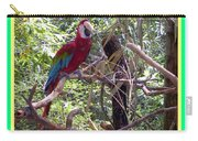 Artistic Wild Hawaiian Parrot Carry-all Pouch