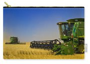 Artists Choice Two Combine Harvesters Carry-all Pouch