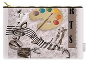 Arts Collage Carry-all Pouch