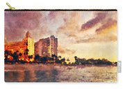 Aruba Beach Painted Carry-all Pouch