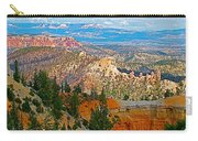 As Far As The Eye Can See From Farview Point In Bryce Canyon-utah   Carry-all Pouch
