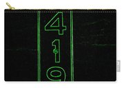 As Pure As It Gets In Green Neon Carry-all Pouch