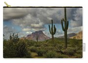 As The Clouds Pass By  Carry-all Pouch