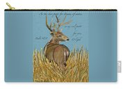 As The Deer Carry-all Pouch