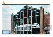 Asbury Park Casino - My City In Ruins Carry-all Pouch by Bill Cannon