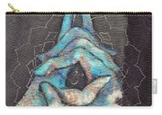 Ascension - Crown 'blue Hand' Chakra Mudra Carry-all Pouch