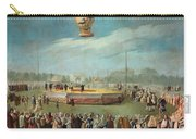 Ascent Of A Balloon In The Presence Of The Court Of Charles Iv Carry-all Pouch