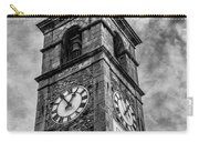 Ascona Clock Tower Bw Carry-all Pouch