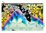 Ascorbic Acid Crystals In Polarized Light Carry-all Pouch