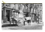Ash Cart New York City 1896 Carry-all Pouch