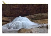Ash Cave Frozen Over Carry-all Pouch