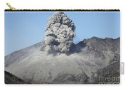 Ash Cloud Rising From Sakurajima Carry-all Pouch