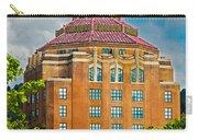 Asheville City Hall Carry-all Pouch by John Haldane