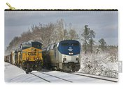 Ashland Trains In The Snow Carry-all Pouch