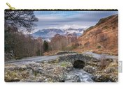 Ashness Bridge And Snow Capped Skiddaw Carry-all Pouch