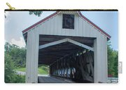 Ashtabula Collection - Mechanicsville Road Covered Bridge 7k0207 Carry-all Pouch