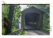 Ashtabula Collection - Middle Road Covered Bridge 7k01959 Carry-all Pouch