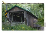 Ashtabula Collection - Riverdale Road Covered Bridge 7k02981 Carry-all Pouch