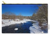 Ashuelot River In Winter Carry-all Pouch
