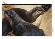 Asian Otters Carry-all Pouch