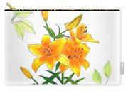 Asiatic Hybrid Lily Carry-all Pouch