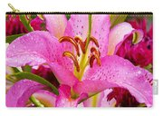 Asiatic Lily Carry-all Pouch