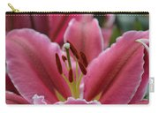 Asiatic Pink Carry-all Pouch