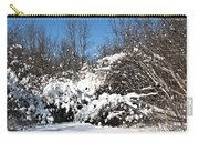 Asleep Under The Snow Carry-all Pouch