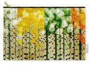 Aspen Colorado 4 Seasons Abstract Carry-all Pouch