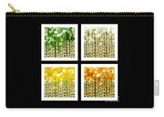 Aspen Colorado Abstract Square 4 In 1 Collection Carry-all Pouch