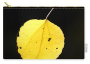 Aspen Leaf  In Fall Carry-all Pouch