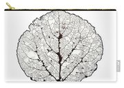 Aspen Leaf Skeleton 1 Carry-all Pouch