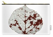 Aspen Leaf Skeleton 2 Carry-all Pouch