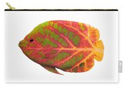 Aspen Leaf Tropical Fish 1 Carry-all Pouch