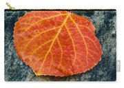 Aspen Leaf  Carry-all Pouch