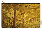 Aspen Leaves Textured Carry-all Pouch