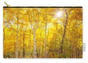 Aspen Morning Carry-all Pouch by Darren  White