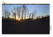 Aspen Prairie Sunset Carry-all Pouch