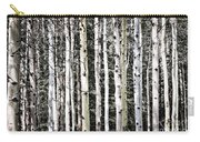 Aspen Tree Trunks Carry-all Pouch