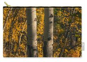 Aspen Trees In Autumn Carry-all Pouch