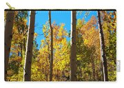 Aspen Trees In Fall Carry-all Pouch