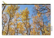 Aspen Trees In The Fall Carry-all Pouch