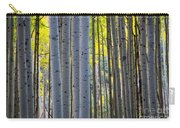 Aspen Trunks Carry-all Pouch by Inge Johnsson