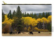 Aspens And Cows Carry-all Pouch