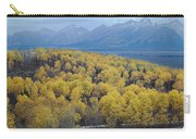 Aspens And The Tetons Carry-all Pouch