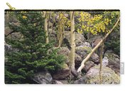 Aspens From Rocks Carry-all Pouch