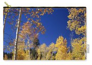 Aspens In Fall - V Carry-all Pouch