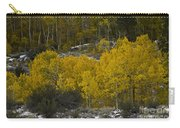 Aspens In Snow Carry-all Pouch
