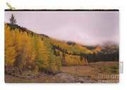 Aspens In The Mist Carry-all Pouch