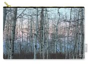 Aspens In Twilight Carry-all Pouch